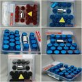 RAYS Racing Wheel Nuts / Wheel Screws , Anti-theft. P(diameter):1.25mm L(length):35mm (20Pcs/Set) (Red,blue,black)