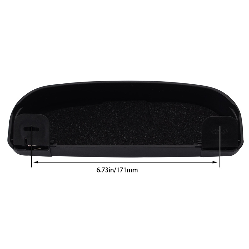 Universal Car Sunglasses Holder Car Glasses Case Auto Accessories Sunglasses Protective Case Clip Holder For Audi VW Toyota KIA in Stowing Tidying from Automobiles Motorcycles