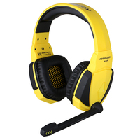 KOTION EACH G4000 Gaming Headphone USB Stereo Headband Headset W Mic Volume Control LED Light Wired