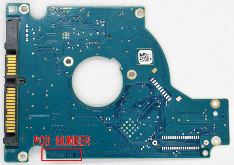 HDD PCB FOR SEAGATE/Logic Board/Board Number: 100609264 REV A or B