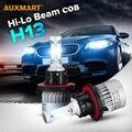Auxmart S2 H13 9008 72 Вт COB СВЕТОДИОДОВ Автомобилей Лампы Фар 6500 К 8000LM Вождения Фар Все-в-одном Привет-Ло луч Противотуманные фары 12 В 24 В