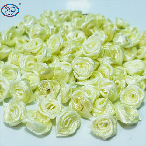Best Price HL 100pcs Light Yellow Ribbon Rose Flowers Wedding Decoration DIY Crafts Apparel Accessories Sewing Appliques 15MM A664 — stackexchange