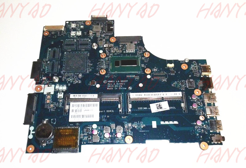 CN 0D28MX 0D28MX VBW01 For Dell 5537 Laptop Motherboard 2955U cpu Processor LA 9982P MainBoard 100 Tested in Laptop Motherboard from Computer Office
