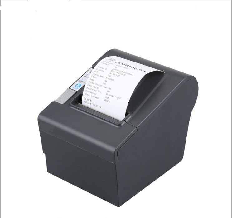 High quality thermal receipt printer with auto cutter bill printer support lan interface pos 80 printer thermal driver download wholesale brand new 80mm receipt pos printer high quality thermal bill printer automatic cutter usb network port print fast