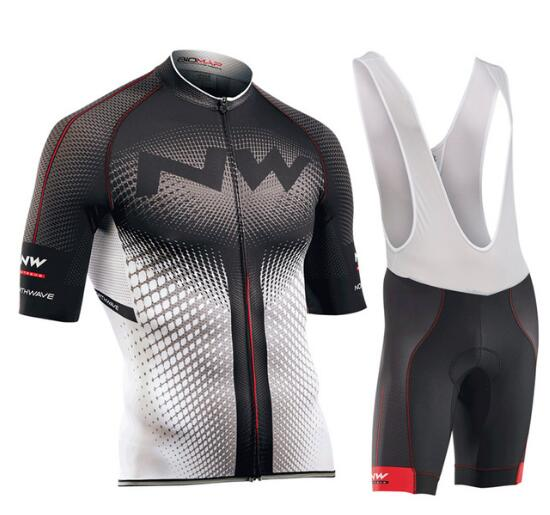 2017 Nw Breathable Cycling Jersey Ciclismo Quick Dry Ropa Ciclismo Bike Clothes Kits Bicycle Racing Clothing Set teleyi bike team racing cycling jersey spring long sleeve cycling clothing ropa ciclismo breathable bicycle clothes bike jersey