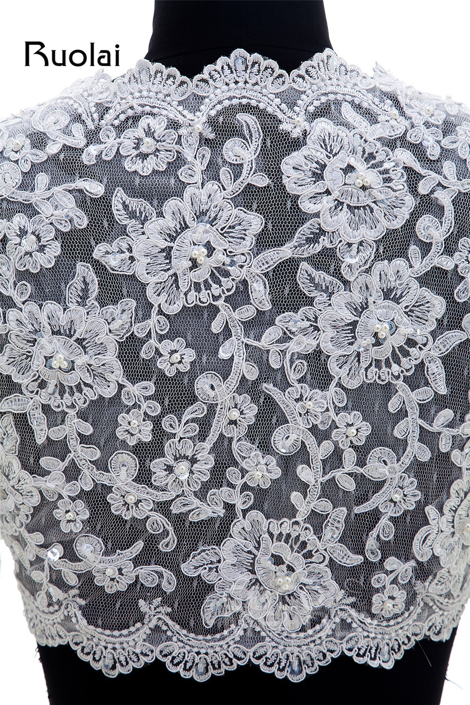 Elegant Lace Bolero жубайлар көйлек 2016 Ұзын - Үйлену керек-жарақтары - фото 5