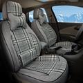 Conjunto completo de Coche Cubre Ajuste Personalizado para Suzuki Kizashi Deporte Cubierta de Asiento de coche Conjunto Durable Ventilado Asientos Cojines Del Coche Soporta Airbag