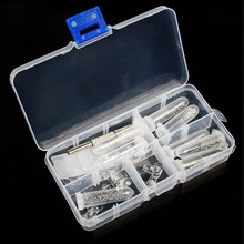 Popular Eyeglass Sun Glasses Nose Pad Optical watch Screwdriver Repair Screws Nut Tool Assorted Kit with Box