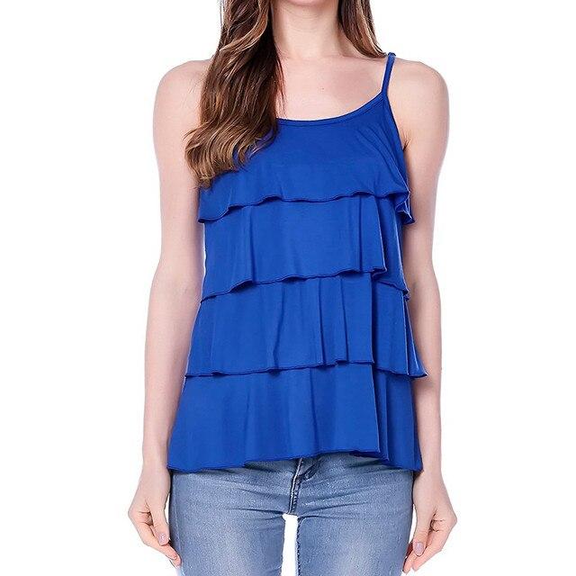 c4d46db0012a5 Women's Maternity Solid Patchwork Nursing Tank Tops Sleeveless Breastfeeding  Clothes T-Shirt Women Sling Blouse