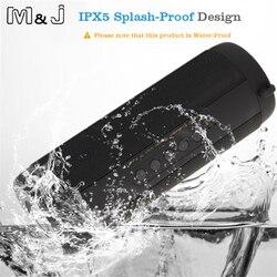 M & J беспроводной лучший Bluetooth динамик водонепроницаемый портативный открытый мини Колонка коробка громкоговоритель динамик дизайн для iPhone...