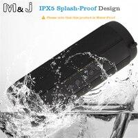 M & J Không Dây Tốt Nhất Bluetooth Speaker Waterproof Xách Tay Ngoài Trời Mini Hộp Cột Loa Thiết Kế Loa cho iPhone Xiaomi