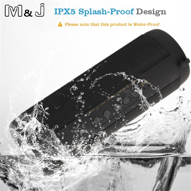 M & J беспроводной лучший bluetooth-динамик водонепроницаемый портативный открытый мини Колонка коробка громкоговоритель дизайн для iPhone Xiaomi