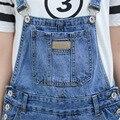 Осенью 2016 новые джинсы отверстие брюки нищая джинсы подтяжки девять брюки оптовая личность