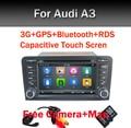 Емкостный Экран Два Din 7 Дюймов Автомобиля Dvd-плеер Для Audi A3 S3 2002-2011 Canbus Радио GPS Bluetooth 1080 P 3 Г Хост USB Ipod Карта