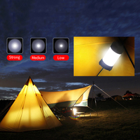 Supfire Latarka Camping Światła T1 Zewnątrz 18650 Baterii Latarka Pracy Światło Latarki Górnik Lmap S064
