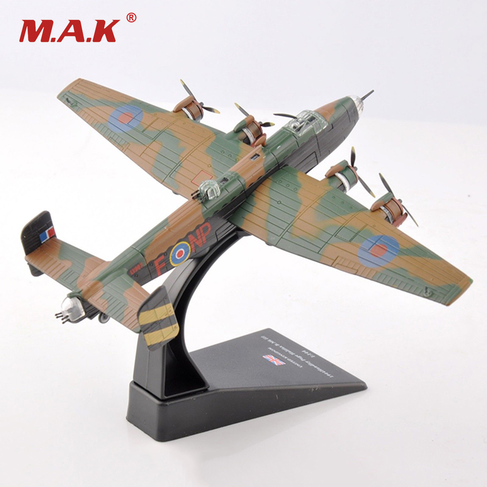 1/144 WWII Royal Air Force Bomber UK 1944 Handley Page Halifax B.Mk III Fighter Model fastnet force 10 rei paper only page 4