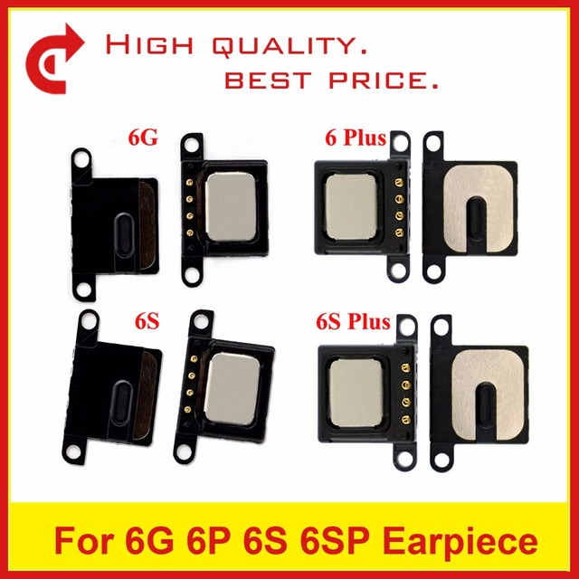 best sneakers 50a95 81504 US $1.97 |10pcs/lot High Quality For iPhone 6 6G 6 Plus 6S 6S Plus Ear  Speaker Earpiece Sound Listening Receiver Flex Cable Replacement-in Mobile  ...