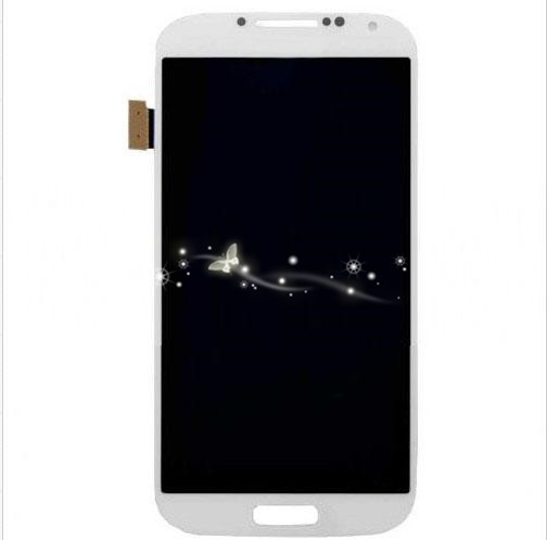 A LCD Touch Screen Digitizer Assembly For Samsung Galaxy S4 i9500 i9505 i337 free shipping
