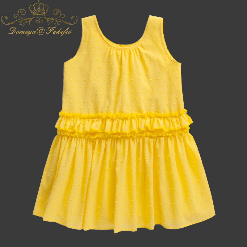 New Summer 2018 Baby Girls Party Dress 3 Year Birthday Princess Sleeveless Tutu Dresses For Weddings Infant Clothing Vestidos