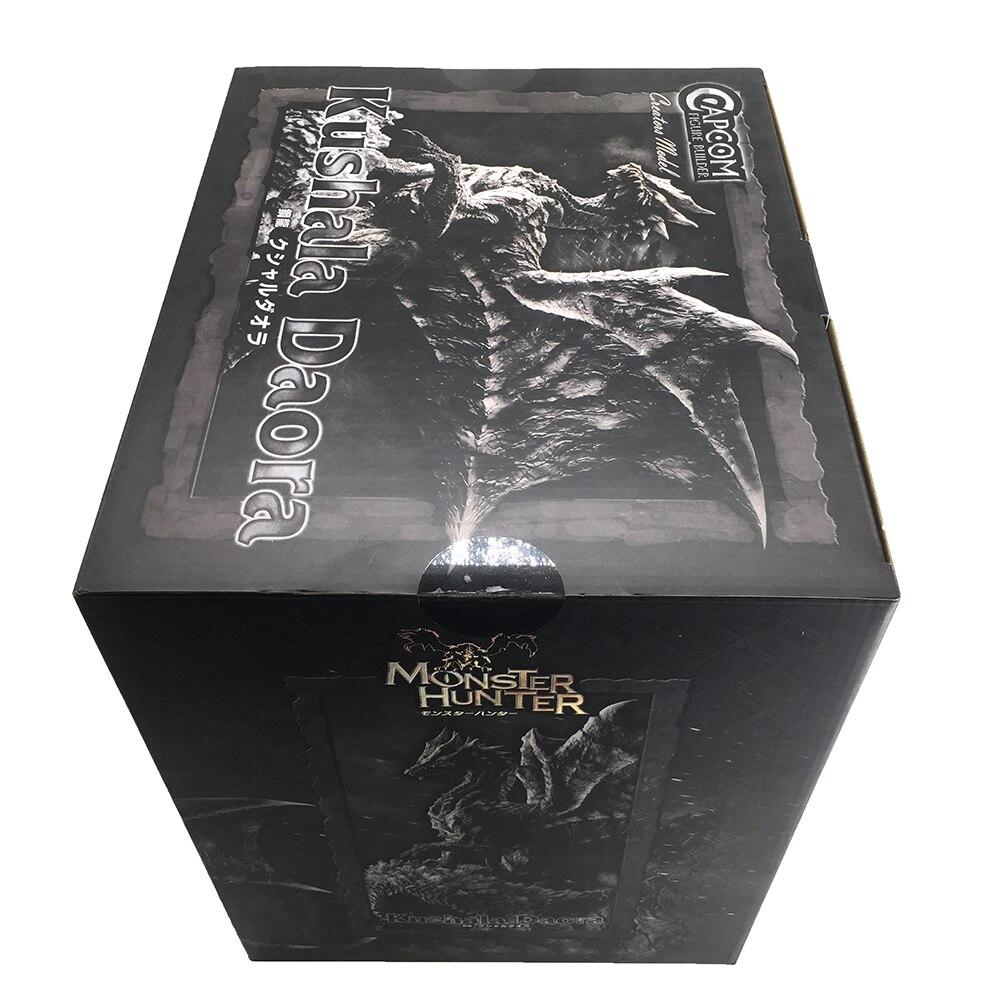 Japanese Monster Hunter Game Model Steel Dragon Monster Hunter World Digital Action Dragon Model Collection Monster