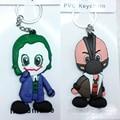 5 unids Joyería de Moda colgante Batman Joker/Pesadilla llavero suave figura de juguete muñeca llavero para Hombres Mujeres niños de cumpleaños regalo