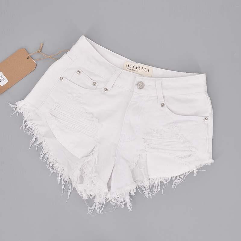 Online Buy Wholesale white denim shorts from China white denim ...