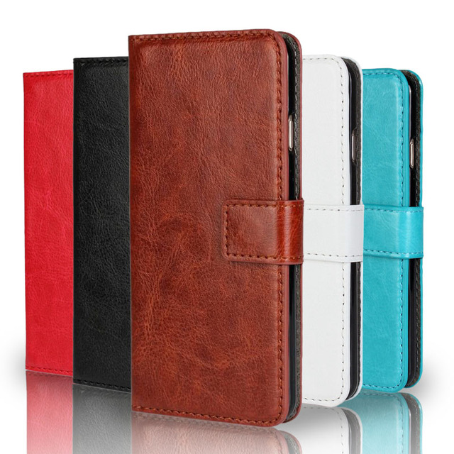 Luxury Retro PU Leather Case for Motorola Moto X XT1055 XT1058 XT1060 Flip Cover Wallet With Stand Phone Cases 6 Color