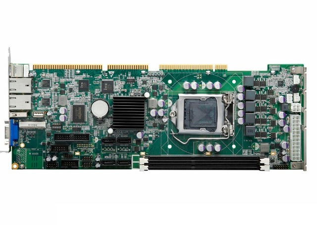 US $235 0 |Industrial Full Size CPU Card, H61 Chipset, IPC Motherboard,  Support LGA1155 CPU, PICMG 1 0 Full Size Single Board Computer-in  Industrial