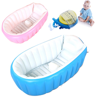 2019 Real Top Fashion Baby Ring Inflatable Tubs Infant Inflatable Swimming Pool Baby Tub/soft Bathtub/eco friendly Portable Bath