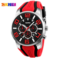 SKMEI Watches Men Luxury Brand Fashion Casual multi-function Quartz Wrist watches Silicone Waterproof Sport Watch Man Clock 2016