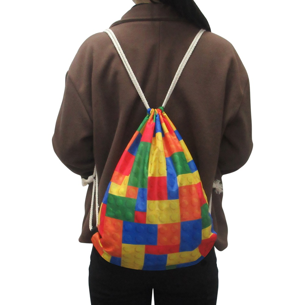 Forudesigns Cool 3d Animal Shark Dolphin Drawstring Backpack Classic Bag College Women Girls School Bookbag Kids Bagpack In Backpacks From Luggage
