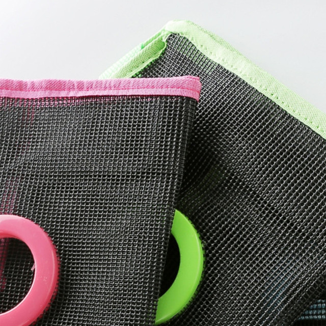 New Breathable Storage Bag Grid Pockets For Storage Organizer Pockets For Storage Household Items Wall Hanging Organizer