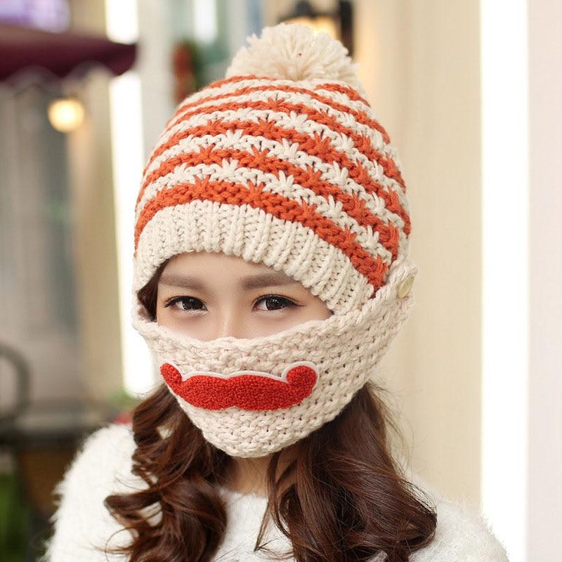 Crochet Pattern Novelty Hats : Online Buy Wholesale beard hat from China beard hat ...