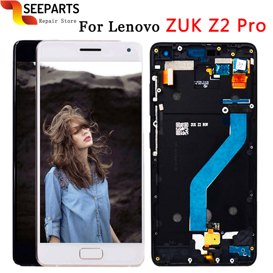 100% Tested 5.2 Lenovo ZUK Z2 Pro LCD Display Touch Screen Digitizer Assembly With Frame Replacement Parts ZUK Z2 PRO Display100% Tested 5.2 Lenovo ZUK Z2 Pro LCD Display Touch Screen Digitizer Assembly With Frame Replacement Parts ZUK Z2 PRO Display