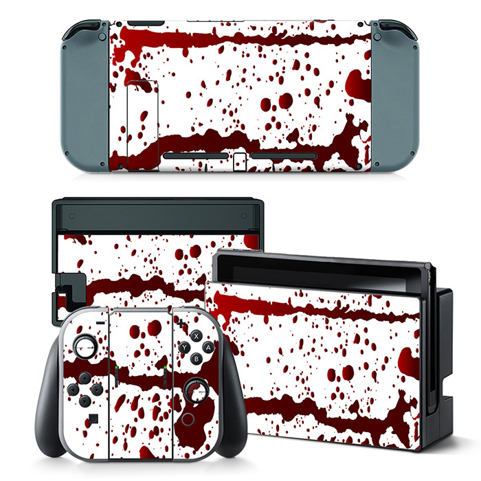 Free Drop shipping hot sale design skin stickers for Nintendo Switch console game decals