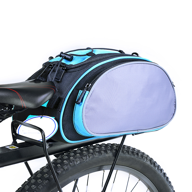 Bike Bicycle Accessories Bag <font><b>Rack</b></font> <font><b>Seat</b></font> Cargo Bag Rear Pack Trunk Pannier Handbag Bike Parts Bag Trunk for A Bicycle Cycling