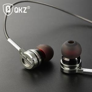 Image 5 - QKZ DM9 سماعة الذهاب برو سماعة مايكرو الدائري في الأذن سماعة عالية الدقة صوت الصوت fone de ouvido الأذنية السمعية