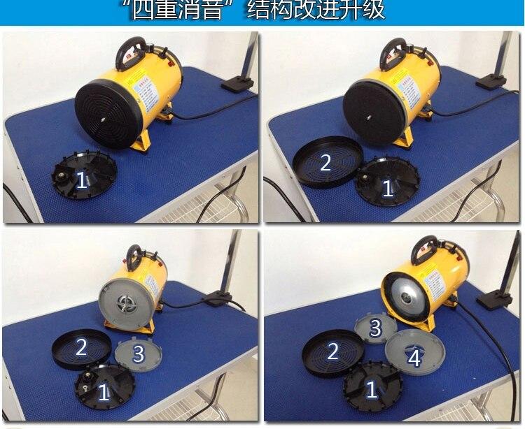 Бесплатная доставка Pet воды дуя Pet посвятить фен для кошек и собак с низкой Шум легко работать розовый желтый ПЭТ барабан