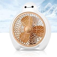 Mini Lüfter 2 Gang 220 V Ventilador Nette Baymax Elektrischen Ventilator (China)
