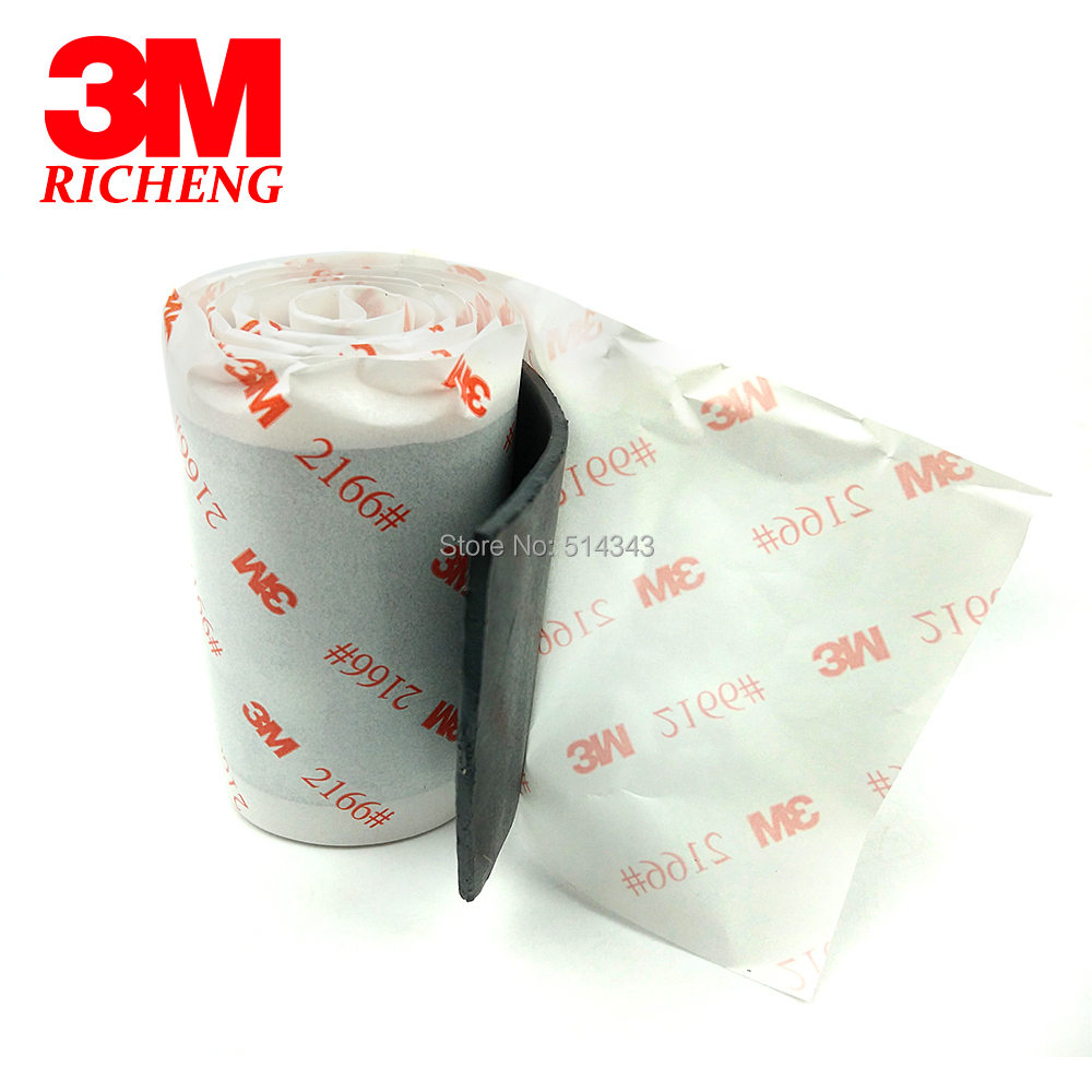 3M Butyl Rubber Tape 2166, Excellent weather resistance and waterproof, sealing performance