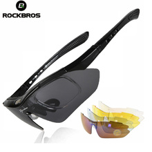 ROCKBROS Polarized Cycling Glasses Outdoor Sports Bicycle Sunglasses