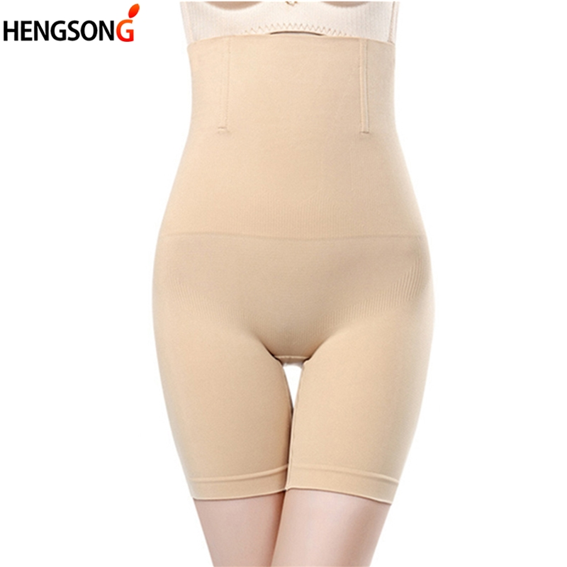 WomenBody Shaper Panties High Waist Control Pants Seamless Tummy Belly Waist Slimming Shapewear Girdle Underwear Waist Trainer