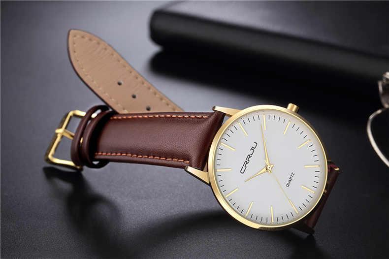 Montre pour hommes Ultra-mince 7.5mm montres Simple hommes d'affaires montre à Quartz hommes de luxe masculin horloge reloj hombre