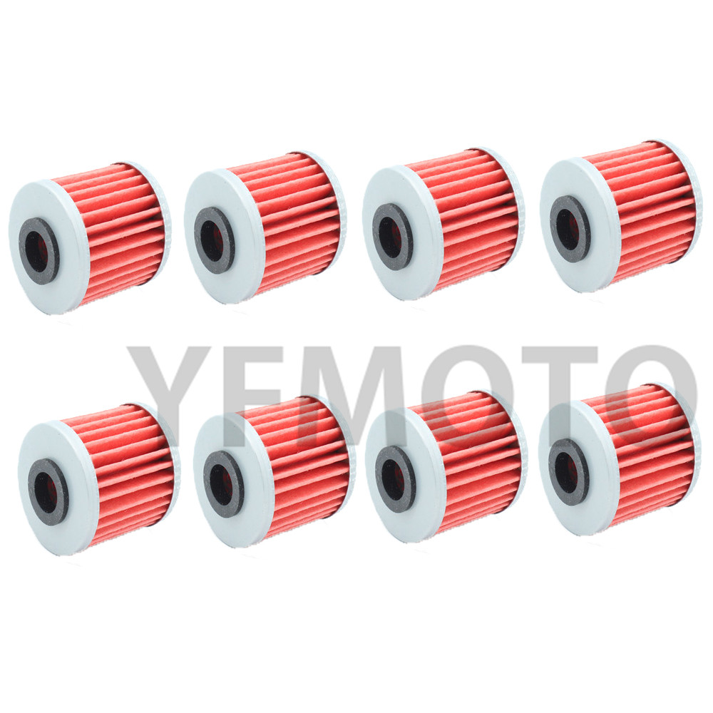 8 Pcs Motorcycle Oil Filter For Kawasaki Kx250 F T6ft7ft8fw9f Wiring Harness T6ft7ft8fw9fxafbybfycf 06 12 Kx450 Hgf 16 N1n2 04 05