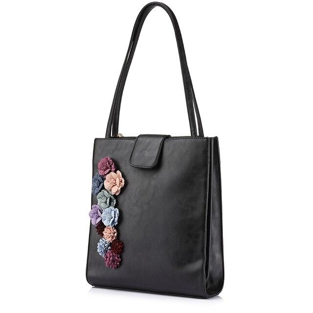 LOVEVOOK brand new spring fashion handbags women designer high quality  casual tote bag flower female shoulder af8935c313