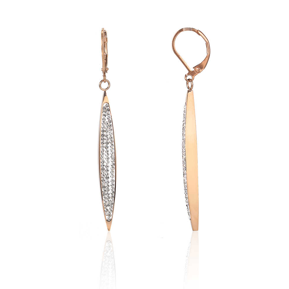 OUFEI Stainless Steel Jewelry Woman Vogue 2019 Rose Gold Drop Earrings Charm Jewelry Accessories Bohemian Novelties Earrings