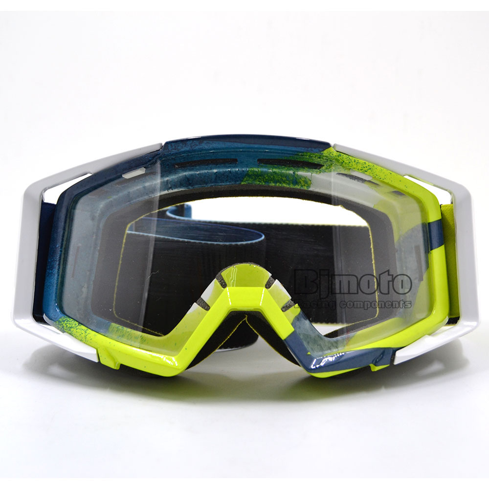 71608bb4b0d BJMOTO Motocross Goggles Glasses for Helmet Racing Gafas Dirt Bike ATV MX  Goggles Clear Tinted Lens