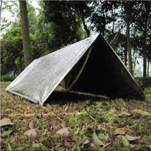 Folding Emergency Survival Foil Rescue Blanket/Shelter