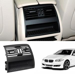 Image 2 - Air Conditioning Vent Outlet Rear Center Console Fresh Air Outlet Vent Grille Cover for BMW 5 SerieF10 F18 Auto Accessories Part