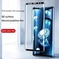 Película de vidrio templado para móvil, Protector de pantalla de cobertura completa para Samsung Galaxy Note 9, 8, S9, S8, S10, S20, e, 5G Plus, S7 Edge, 9D, A7, A8